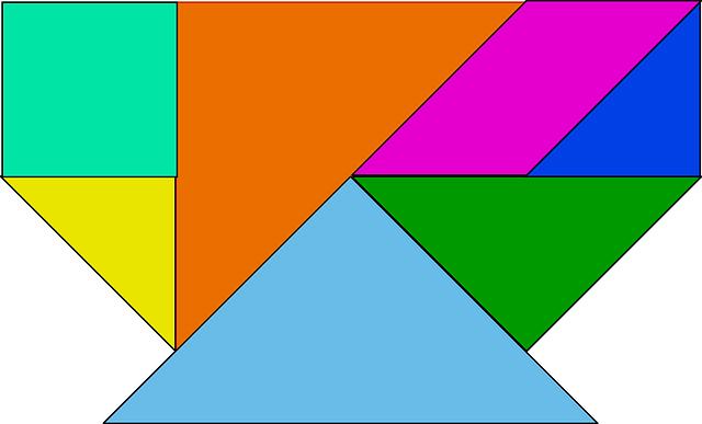 barevné tvary