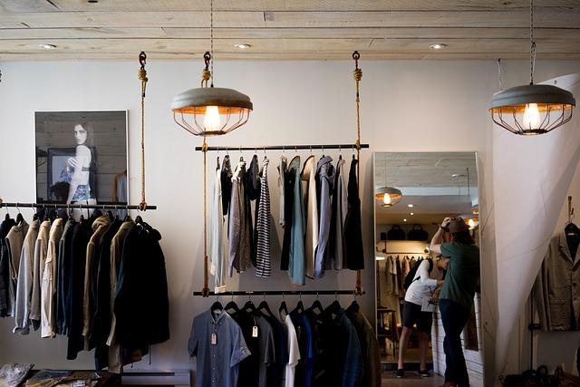 obchod s oblečením pro pány