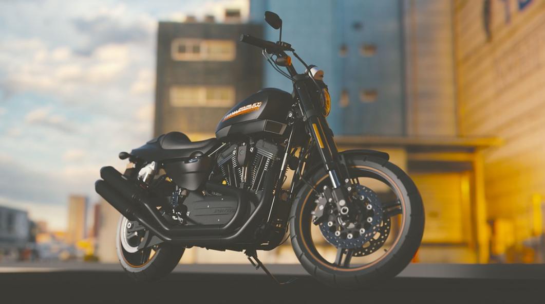 připravená motorka
